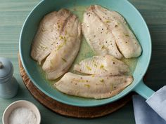 Everyone in my house likes tilapia. I'm always looking for another way to cook it. This one is super easy with very few ingredients. Bobby's Baked Tilapia from FoodNetwork.com