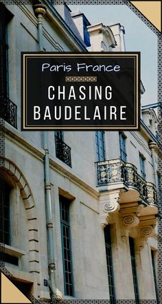 Couldn't wait to get to #Paris to explore the 19th-century artists' legacy! Was eager to see where the poet Charles #Baudelaire used to live and where he actually wrote his famous #FlowersofEvil. More on the blog! #TravelToFrance #Travel #TravelEurope #ParisFrance #FrenchArtists #CharlesBaudelaire #ParisMustSee Paris Travel Guide, Travel Guides, Cities In Europe, Central Europe, France Travel, Travel Europe, European Travel Tips, Visit France, City Break