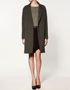 Lantern coat at Zara £119