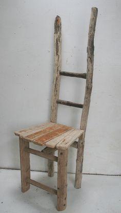 Driftwood Chair, Drift Wood,Unique Chair,Feature Chair,Garden, dining chair