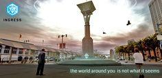 Googleが実世界陣取りモバイルゲーム Ingress を開始。改変現実SFもの