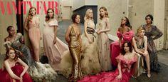 Olhares: 'Vanity Fair' e as estrelas de Hollywood