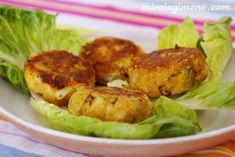 Pastelitos de calabaza, puerro y canela - receta vegana