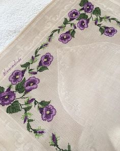 This post was discovered by Emine YILMAZ. Discover (and save!) your own Posts on Unirazi. Hardanger Embroidery, Ribbon Embroidery, Cross Stitch Embroidery, Embroidery Patterns, Cross Stitch Pillow, Cross Stitch Charts, Cross Stitch Patterns, Palestinian Embroidery, Prayer Rug