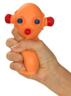 BUG OUT BOB Hand Stress Reliever Ball Novelty Toy