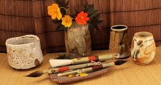 Broom Corn, Ceramic Supplies, Artist Brush, Horse Hair, Brushes, Pottery, Stamp, Artists, Handmade