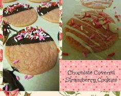 With Love, Anna: Chocolate Covered Strawberry Cookies