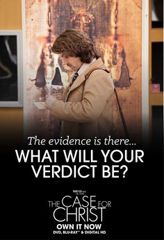 Based on bestselling true story, The Case For Christ is for everyone who has ever pondered the existence of God. Faith Based Movies, Case For Christ, Movie Producers, Award Winning Books, Christian Movies, Family Movies, Know The Truth, Christian Inspiration, Atheist