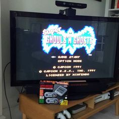 Clearly the first game I'm to play is Super Ghouls'n ghosts  #snesmini