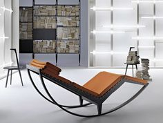 Beautiful Rocking Chair Designs of Canapo-by Franco Albini for Cassina Modern Furniture Stores, Contemporary Furniture, Cool Furniture, Furniture Design, Swinging Chair, Rocking Chair, Chaise Longue Design, Stylish Chairs, Modern House Design