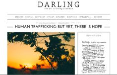 FEATURED: DARLING MAGAZINE - The A21 Campaign