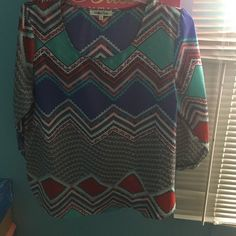 Lose shirt Long sleeve comfortable like new only worn once Tops Blouses