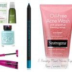 5 Beauty Must Haves Right Now (Under $10)