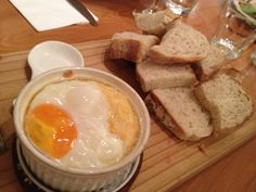 Eggs w cheese !!! Delicious ~