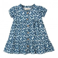 organic cotton dress daisy front