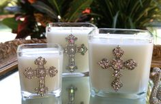 FAITH, HOPE & LOVE is what the Easter season is all about and it is fast approaching on April 20th. ♥ Let these crosses be a figure of beauty, comfort and celebration this Easter! I would like to give you a gift of 15% off your order of two or more candles between now and April 9, 2014.  Highly fragrant, luxurious hand made candles!  For ordering  email sc-scentscandles@att.net www.facebook.com/SCCandles