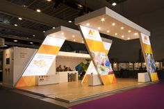 simple exhibition stand - Google Search