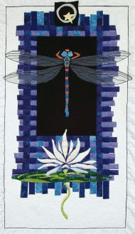 Dragonfly quilt I wonder if I asked my MIL if she would make this for me....or show me how?