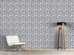 Design #Tapete Schweigende Steine