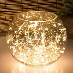 LED String Lights 9.8 ft Home Decor Starry Silver Wire Christmas Party Holiday #OakLeaf