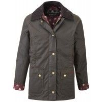 Barbour Girls' Chamber Beadnell Jacket – Olive/Winter Candlebridge GWX0004OL72 | Country Attire
