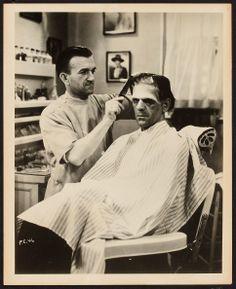 Image of Boris Karloff in Frankenstein (Universal, 1931). Publicity   Lot #51133   Heritage Auctions