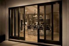 modern french doors | sliding doors