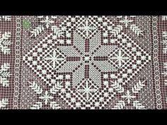 Строчевая вышивка - YouTube Needle Lace, Filets, Filet Crochet, Diy And Crafts, Rugs, Linen Tablecloth, Towels, Lace, Hardanger