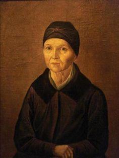 Арина Родионовна (портрет неизвестного художника)