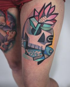 Peter Aurisch Tattoos