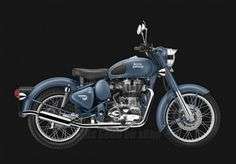 Royal Enfield Classic 500 launched in Squadron Blue Motorcycle News, Moto Bike, Motorcycle Engine, Custom Motorcycles, Cars And Motorcycles, Bike India, Bullet Bike Royal Enfield, Enfield Classic, Easy Rider