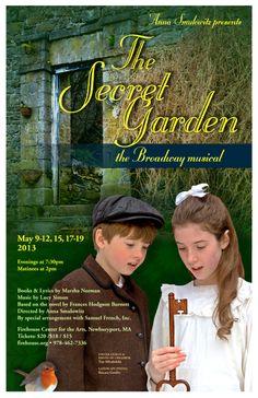 The Secret Garden • 2013 • poster designed by Tim Hiltabiddle