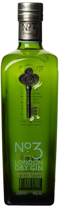 Berry Bros. & Rudd No. 3 London Dry Gin (1 x 0.7 l): Amazon.de: Lebensmittel & Getränke