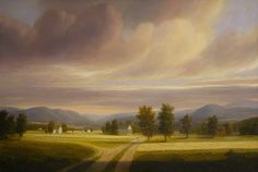 """""""Hadley"""" Original oil by Thomas Locker available at the R. Michelson Galleries or at rmichelson.com"""