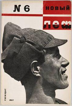 Novyi LEF Magazine cover by Aleksandr Rodchenko, 1927. That was truly modern!