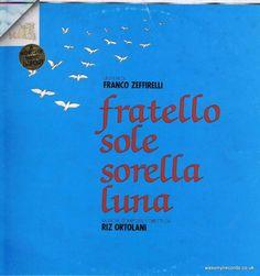 Riz Ortolani – Fratello Sole Sorella Luna – LP Vinyl Record
