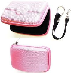 """NEEWER® PINK Hard Shell Eva GPS Carrying Case for Garmin Nuvi 255W / 780 / 265 4.3"""" by Neewer. $1.46. GPS Pouch Hard Case Pink for ANY GPS System with up to 4.3"""" LCD Screen   For: Garmin: Nuvi 750, 760, 850, 860, 755T, 765T, 775T, 785T, 855 855T, 1300, 1350, 1350T, 1370T, 1390T 200W, 205W, 250W, 255W, 260W, 265WT TomTom: One 125, 130, 130S, 140, 140S   *Quantity: 1 *Color: PINK *Case is molded to fit for 4.3"""" GPS *Zipper-style case Secure. *Mesh pocket for storage of batt..."""