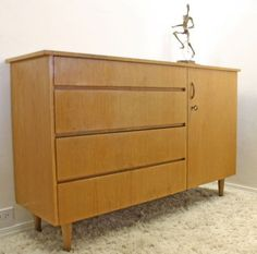Los Angeles: Mid Century Danish Modern Cabinet Dresser w/ Key $249 - http://furnishlyst.com/listings/1029886