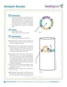 Harlequin bracelet 1
