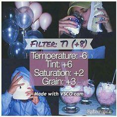 Filtro VSCO T1