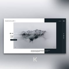 Highland Peak Landing Page Mockup Photo by eberhard grossgasteiger from Pexels - Landing Page - Ideas of Landing Page - Highland Peak Landing Page Mockup Photo by eberhard grossgasteiger from Pexels Website Design Layout, Web Layout, Layout Design, Print Layout, Landing Page Inspiration, Website Design Inspiration, Graphic Design Inspiration, Mise En Page Web, Webdesign Layouts