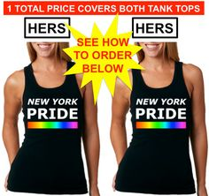 ****** 1 TOTAL PRICE COVERS BOTH TANK TOPS ($34.98) *******  HERES HOW TO ORDER:  *** ITS SIMPLE & EASY ***  Select your sizes from both drop-down menus then add them to the cart.  And thats it! :)  YOUR TOTAL PRICE WILL INCLUDE BOTH TANK TOPS  Proceed to checkout  Thank You!!!  *** LIVE PROUD ***  ***************************************************************************************  5.8 oz., 100% combed and ringspun cotton  30 singles  slim fit  2x1 rib  sideseamed  Athletic Heather is…