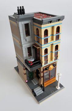 Legos, Lego Ornaments, Lego Design, Modular Design, Lego Pictures, Lego Projects, Design Projects, Lego Blocks, Lego Modular