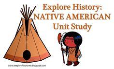 Pocketful of Treasures: Native American Unit Study & American Heritage Girls Badge