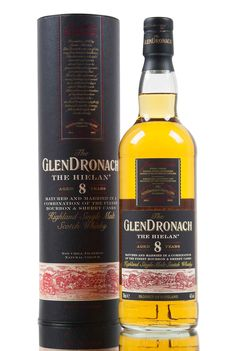GlenDronach 'The Hielan', a new expression within the distilleries core range. Matured and married for 8 years in a combination of bourbon and sherry (PX & Oloroso) casks, bottled at 46% vol.