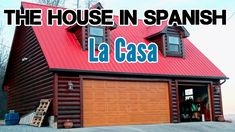 La casa en español. This video is all about the house in Spanish (phrases + adjectives + audio), specifically about rooms in a house in Spanish and other par...