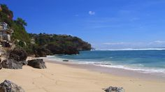 Uluwatu Beach, nearby Pecatu, Bali.  I wouldn't need to leave the house if I lived in that one