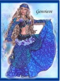 OOAK Gypsies,Gypsy Dolls ,OOAK Barbie dolls, one of a kind dolls