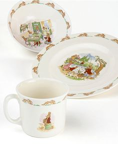 """Royal Doulton """"Bunnykins"""" I have these for my grandchildren and had them when I was little.  Love them!"""