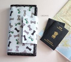 Hey, I found this really awesome Etsy listing at https://www.etsy.com/listing/462803086/bow-tie-family-passport-holder-travel